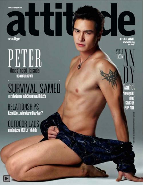 Attitude November 2013 Gay Pics