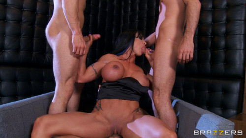 Busty Lady Decides To Take Them On With Every Hole She Is Got Orgies