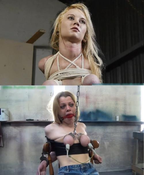 Super bondage, hanging and torture for beautiful young slut