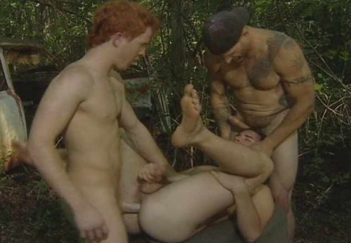 Bareback seductive country boy Gay Porn Movie