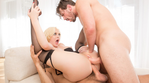 Jenna Ivory - DP Sandwich (2016) Threesome