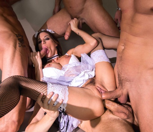 Her Hot Game With A Few Guys