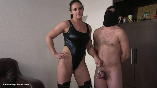 Boot Domination Femdom and Strapon