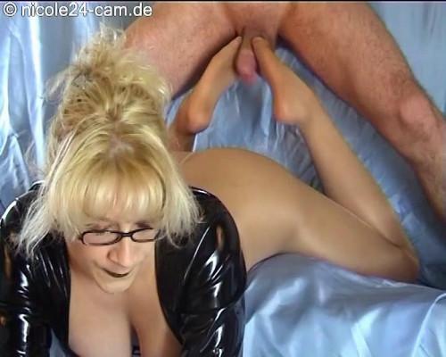 Nicole24 Footjob and Foot licking part 5