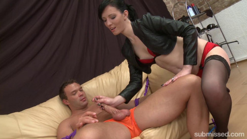 Cheap Whore Femdom and Strapon