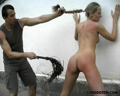 Whipping hard BDSM