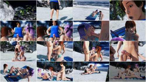 Beach Villa Doa Edition - HD 720p 3D Porn
