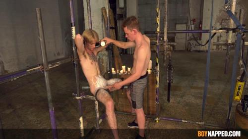 BoyNapped Leo Torments Twinky Jacob - Part 2