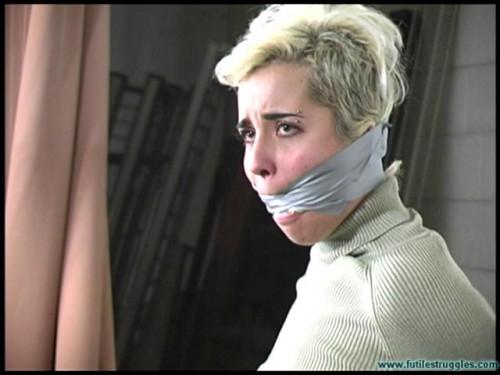 Futilestruggles Cruel Gag Interrogation for Violet - Part 1 BDSM