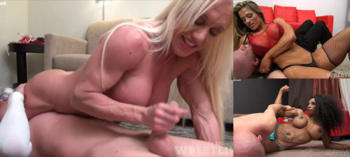 Female Muscle Wrestling Videos Part 1 (10 videos)
