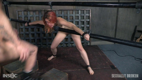 Amarna is a sexy fire touched redhead BDSM