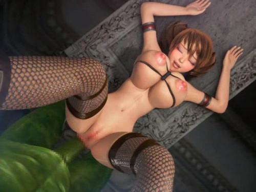 Captured Female Soldier 3D Porno