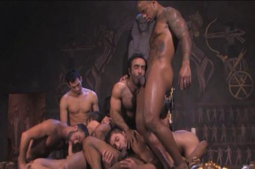 Eight Arabian Men In Orgy Gay Movie