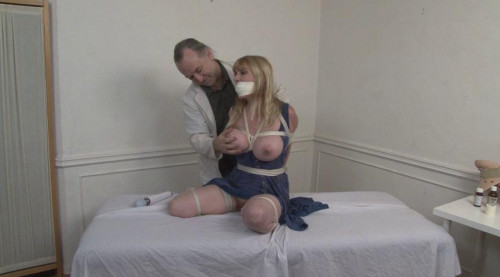 Bound and Gagged – Doctor Vibes Bound Patient to Orgasm – Lorelei