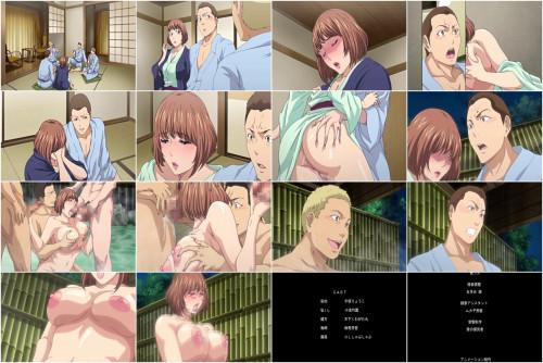 Tsuma ga Onsen de Circle Nakama no Nikubenki Anime and Hentai