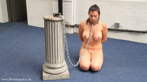Super restraint bondage, domination and spanking for hot nude wench HD 1080p