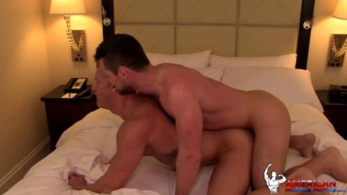 American Muscle Hunks - Kurtis Wolfe & JohnnyV Gay Clips