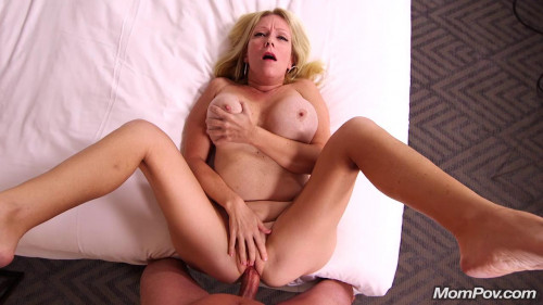 Adria - Gorgeous Blonde Milf First Timer Gonzo (Point Of View)