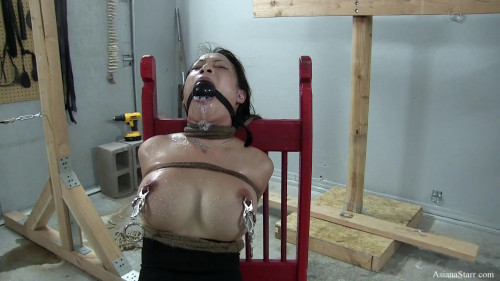 Captain Hitachi - Part 2 - Tortured With Ice Cubes Compressed - HD 720p BDSM