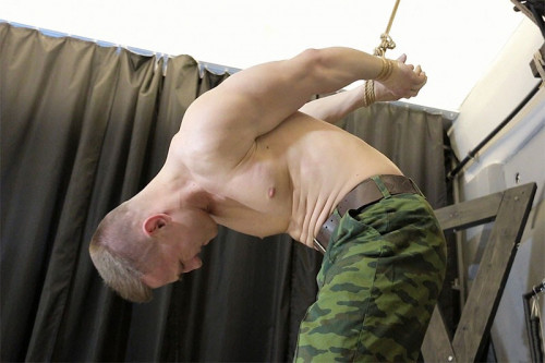 RCapturedBoys - Soldier Misha. Part 1