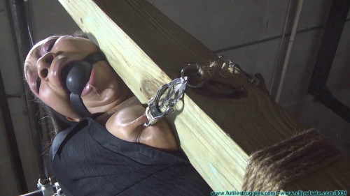 Sassy is Captured Manhandled Belt Whipped Clamped Tounge Tied Nose Hooked Etc