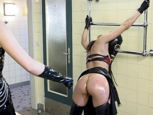 Scene 2 Lady K, Lady Lou BDSM Latex