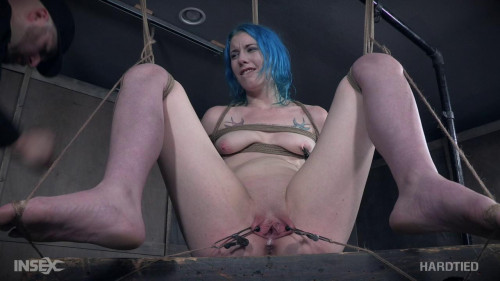 Lux and her lengthy legs acquire bound and teased!