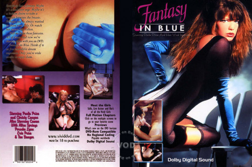 Fantasy in Blue Vintage Porn