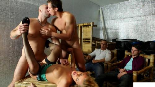 My first bi orgy