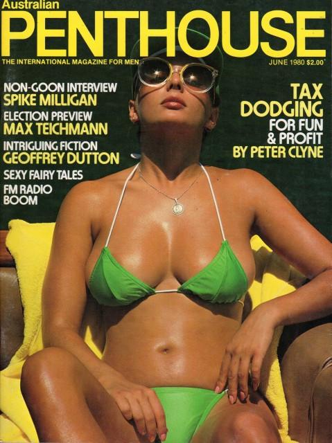 Penthouse Australia 1980 Porn Magazines
