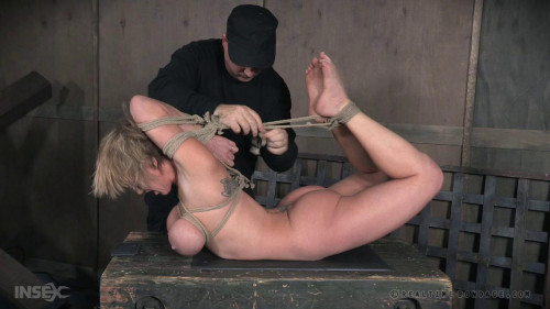 Metal Bondage & Sweet Domination For Busty Slave