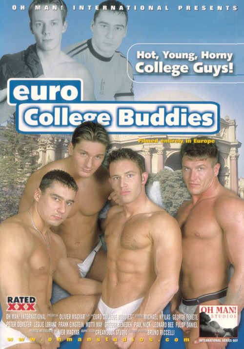 Euro College Buddies Gay Movies