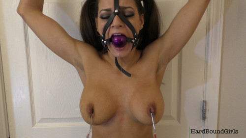 Charlie Mancini Clothes Destruction And Nipple Clamped - Full HD 1080p