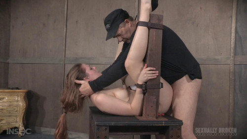 Hard throat fucking and squirt orgasms: Live Show Part 3 BDSM