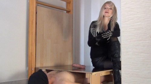 Suffer two bitchy Orgasms Femdom and Strapon