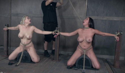 Pain Party For Big Tits Slaves