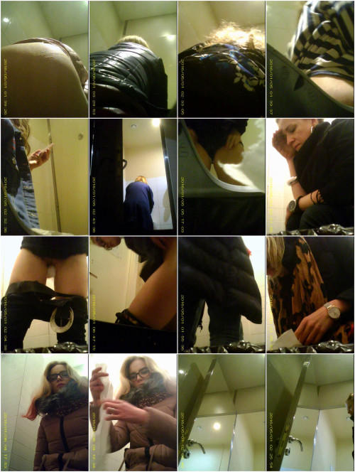 Hidden Camera In The Student Toilet - Vol. 1 - Full HD 1080p Hidden Cam Sex