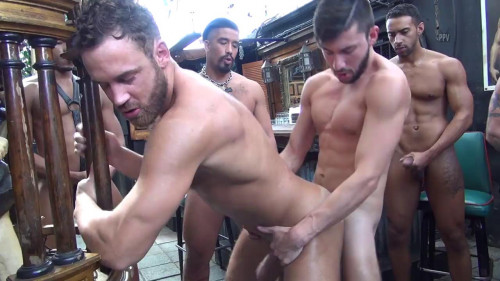 Logan Moore Gang Group sex Part ASS TO MOUTH