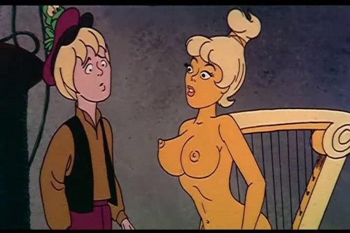Busty Wrestling Babes Cartoons