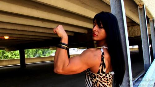 Erika Aragon - Fitness Model Female Muscle