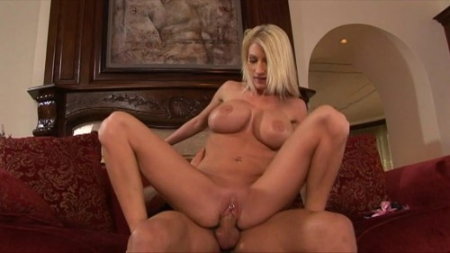 Big boobed blonde fucked and facialized