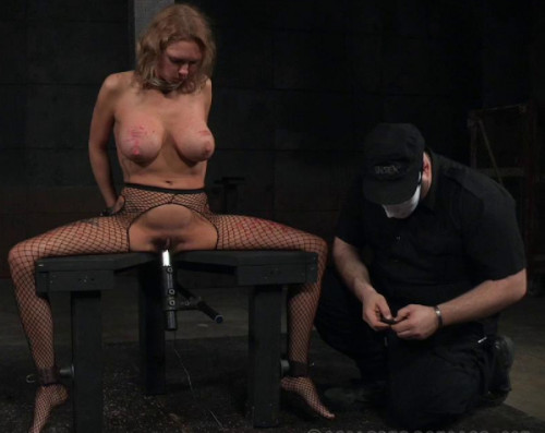 Bondage & Discipline For Big Tits Slave Rain DeGrey