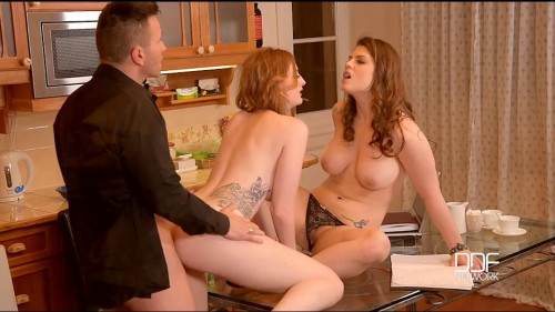 Lucia Love, Zara DuRose Threesome