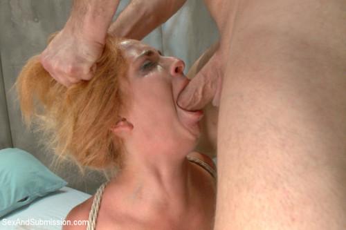 Ashlee Graham gets Ass Fucked in Bondage. BDSM