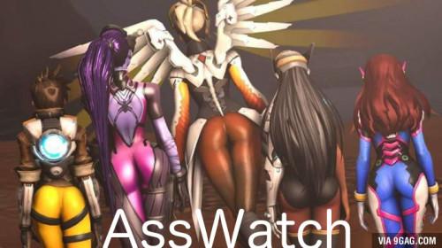 Booty Watch - An Overwatch Compilation of Ass HD