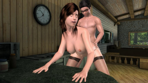 Harry & Hermione Secret Sex Affair Part 2 3D Porno