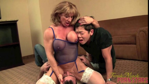 Wild Kat - The Bachelor Party part 2 Female Muscle