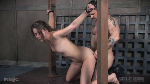 The final scene of our Coeds non stop live feed-rough bdsm porn