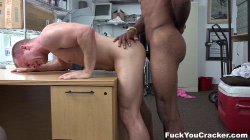 Fuck You Cracker - Cracker Cums While Getting Black Cocked - Austin Andrews