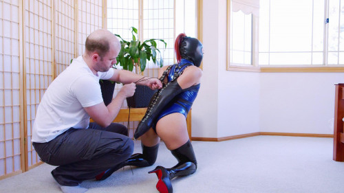 Realise Swimsuit Armbinder Hogtie BDSM Latex